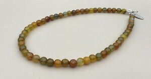Fire Agate Necklace - Made in Ireland