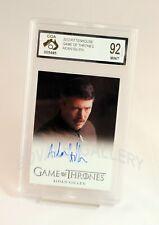 Aidan Gillen Game Of Thrones Auto Card Graded Mint
