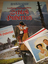 Schloss Hubertus -21 Aushangfotos + 2 Plakate- Hubertus Castle Sascha Hehn Eva G
