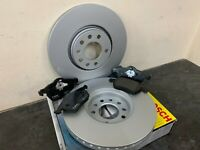 Vauxhall Zafira 2005-2015 Front Brake Disc And Pads BRAND NEW OEM BOSCH QUALITY