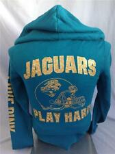 VICTORIAS SECRET LOVE PINK ZIP UP HOODIE NFL JAGUARS BLING EXTRA SMALL NEW
