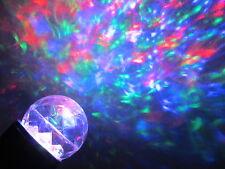 Gemmy Kaleidoscope Red/Green/Blue Turning Swirling light LED Projection lightsho