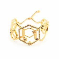 SALE Bill Skinner Hexagon bee bangle