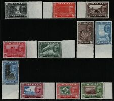 Malaya - Kedah 1959 - Mi-Nr. 95-105 ** - MNH - Freimarken / Definitives (I)