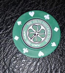 Celtic Poker Chip Golf Ball Marker
