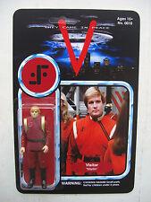 """Visiteur Martin custom figure MOC V """"VISITEUR"""" vintage sci-fi tv show"""