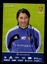 Murat Yakin Autogrammkarte FC Basel 2012-13 Original Signiert+A 146901