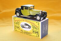 Matchbox Yesteryear Y24-1 Bugatti T44 (1938) - Code 3 (D85)