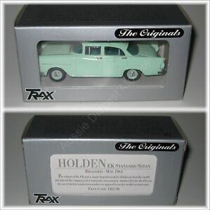 Holden EK Standard Sedan Green TRAX 1:43 Diecast Model Car TR21B