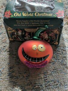 Halloween Pumpkin Ornament (Not In Original Box)