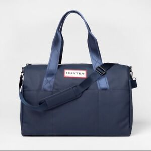 Hunter for Target Duffel Bag Large Navy Yellow First Release❗️New With Defects❗️