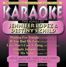 FREE US SHIP. on ANY 2 CDs! NEW CD Various Artists: Karaoke: The Songs By Jennif
