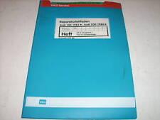 Werkstatthandbuch Audi 100 Typ 44 Vergaser / Zündanlage