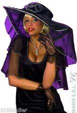Gants Courts Dentelle noire Femme Cod.61381
