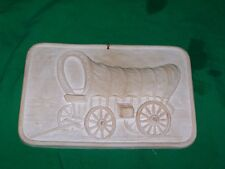 VTG WHITE SANDS NEW MEXICO NM COVERED WAGON NATIONAL PARK COWBOY WESTERN DECOR
