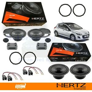 Hertz CK165 + CPX165 Casse Altoparlanti Ant + Post PEUGEOT 308 DAL 2007 al 2013
