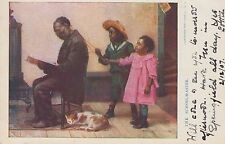 Black Americana ~ The School Master ~ Illustrated Post Card Co. ~ 1907