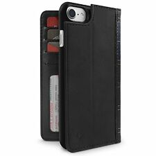 Case Twelve South BookBook 2in1 for APPLE iPhone 7 Genuine Leather - BLACK