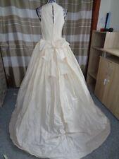(10)Edles Damen Braut Standesamt Abend Kleid GR: GR: 40