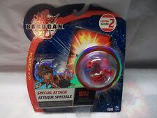 BAKUGAN New Vestroia DELTA Dragonoid Heavy Metal PYRUS Special Attack New