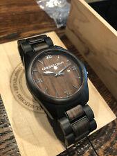 Original Grain - Men's Watch - Ebony Black Classic 43mm - OG-C2-003
