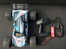 LOSI 4WD BLACK/BLUE RC CAR