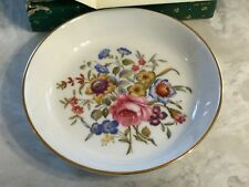 Avon 1982 Happy Holidays Royal Worcester Fine Porcelain Plate Exc for Avon Reps