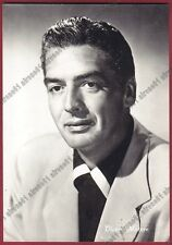 VICTOR MATURE 06 ATTORE ACTOR ACTEUR CINEMA MOVIE USA Cartolina REAL PHOTO