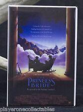 "The Princess Bride Movie Poster 2"" X 3"" Fridge / Locker Magnet."