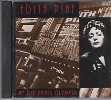 EDITH PIAF - AT THE PARIS OLYMPIA  - CD  - NEW -