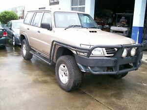 WRECKING NISSAN PATROL GU 2.8 DIESEL MANUAL $1 WHEEL NUT PARTS ONLY