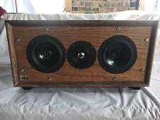 Vifa Wood Center Speaker Box (2)Mid Woofer (M13SG-09-16) (1) Tweeter D25ASG05-06