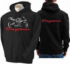 Felpa per moto Triumph Daytona 675 hoodie sweatshirt bike hoody Hooded sweater