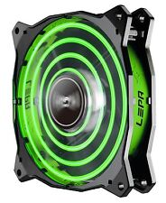 Enermax LPCPA12P-G Lepa 12cm Green Led Fan Unique Cfan Quad-ring Led Pattern