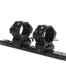 Pair 30mm Scope Ring 20mm Rail Picatinny Weaver Mounts for Rifle Hunting