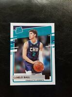 2020-21 PANINI DONRUSS LAMELO BALL RATED ROOKIE #202 ROY?🔥 HORNETS RC