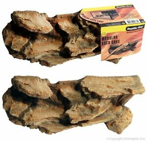 REPTILE ONE ROCK CAVE MODULAR STACKABLE (M) 30.5X10.5X10.5CM