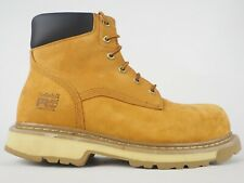 Mens Timberland Pro 6 Inch Traditional A132M Wheat Leather Lace Up Safety Boots