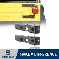 Hooke Road 2Pcs Metal Tailgate Hinge Set Replacement For 97-06 Jeep Wrangler TJ