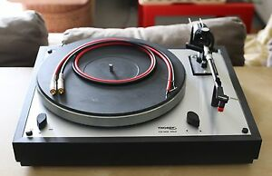 Technics Thorens Turntable RCA Audio Interconnect Cable Upgrade / Replacement