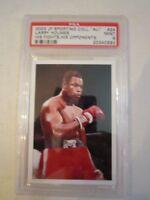 2003 MUHAMMAD ALI JP SPORTING COLL. #24 BOXING CARD PSA GRADED 9 MINT