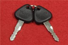2pcs Keys for Volvo Samsung Excavators 14529178 777 M3