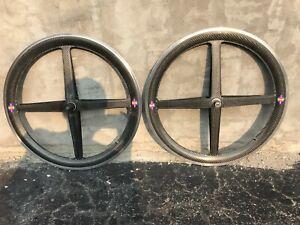 """Used Spinergy rev X roks 26"""" Clincher Wheelset"""
