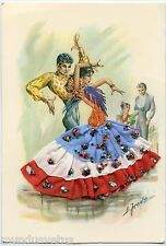 Jolie danseuse de  FLAMENCO. Ajoutis et Brodée . Pretty dancer SPAIN