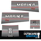 Mariner 60hp Two Stroke Outboard Engine Decalssticker Kit 1990s