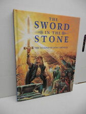 Sword In The Stone Oversized Illustrated Storybook Rex Archer Lynne Willey Art
