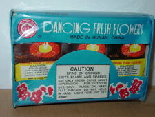 RED LANTERN DANCING FRESH FLOWERS FIREWORKS COLLECTIBLE 12 PACK LABEL UN0336