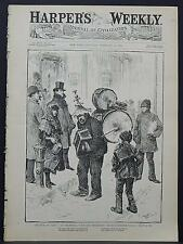 "Harper's Weekly Cover-Page A4#85 Feb. 1888 ""Multum, In Parvo,"""