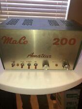 Maco 200 Amplifier Cb/ Ham Radio