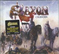 SAXON - Crusader - (Deluxe Edition)     - DIGI CD NEU